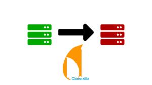 clonezilla - transformation de machine
