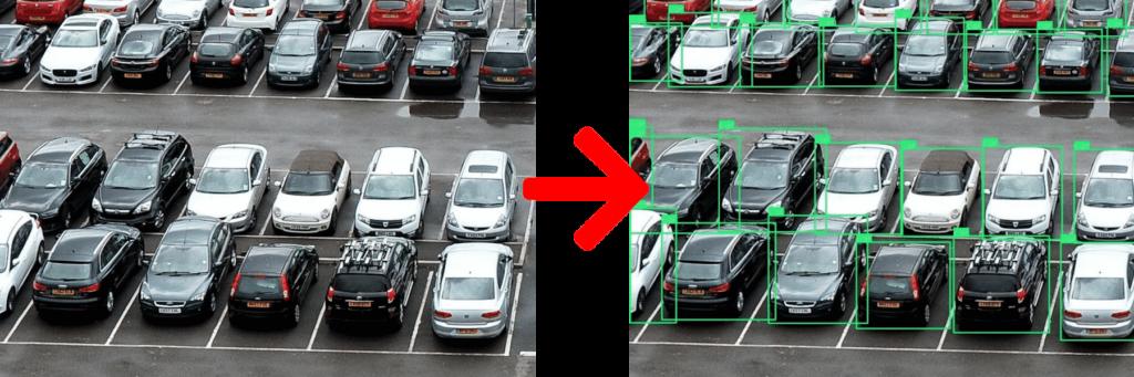 demo parking avant après